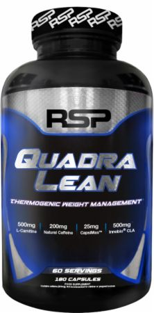 Image of RSP Nutrition QuadraLean Thermogenic 180 Capsules