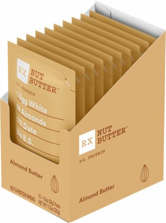 RX Nut Butter, 1.13oz Packs, 10 Count