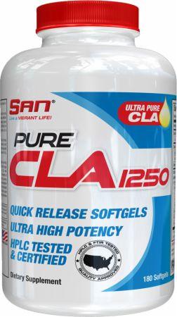 Image of S.A.N. Pure CLA 1250 180 Softgels