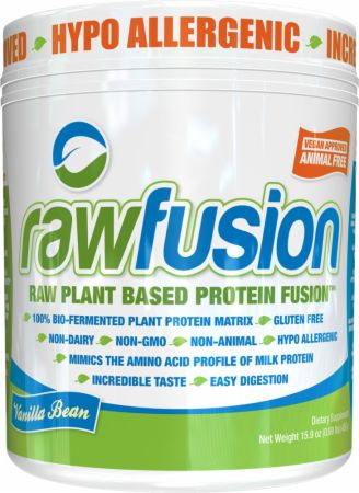 Image of rawfusion Vanilla Bean 1 Lb. - Plant Protein S.A.N.
