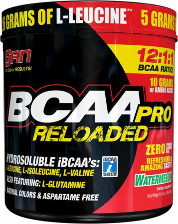 Image of S.A.N. BCAA Pro Reloaded Powder 456 Grams Watermelon
