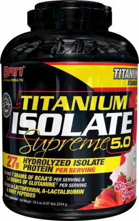 Titanium Isolate Supreme 5.0