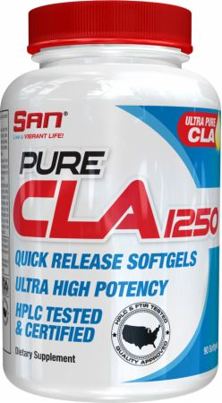 Image of Pure CLA 1250 90 Capsules - Omegas & Essential Fatty Acids S.A.N.