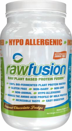 Image of rawfusion Peanut Chocolate Fudge 2 Lbs. - Plant Protein S.A.N.