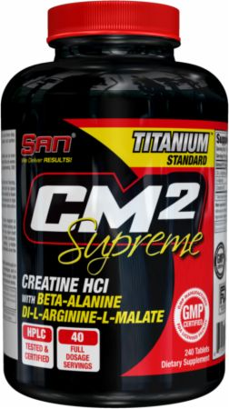 S.A.N. CM2 Supreme 240 Tablets - Stimulant Free Pre-Workout
