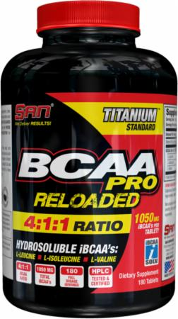 Image of S.A.N. BCAA PRO Reloaded Tablets 180 Tablets