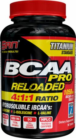Image of S.A.N. BCAA PRO Reloaded Tablets 90 Tablets