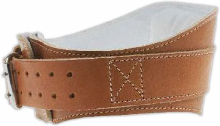 Image of Schiek 6 Power Leather Contour Belt Medium Brown ""