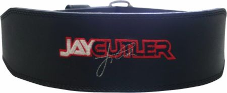 Image of Schiek 4 Leather Jay Cutler Signature Belt Small Black ""