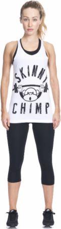 Image of Skinny Chimp Classic Skinny Chimp Gym Vest Large White