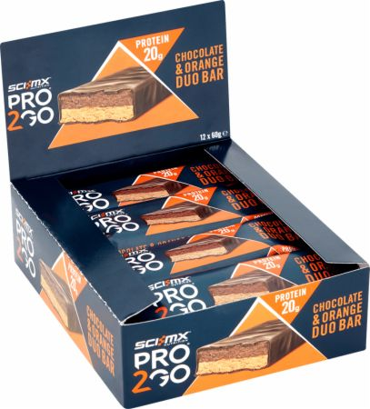 Image of Sci MX Pro 2Go Duo Bar - 12 x 60g Bars