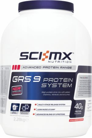 Image of SCI-MX Nutrition GRS 9 Protein System 2.28 Kilograms Strawberry