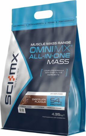 Image of Omni MX All-In-One Mass Chocolate 4.35 Kilograms - All-In-One Muscle Builders SCI-MX Nutrition