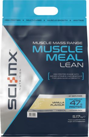 Image of Muscle Meal Lean Vanilla 5.17 Kilograms - Protein Powder SCI-MX Nutrition