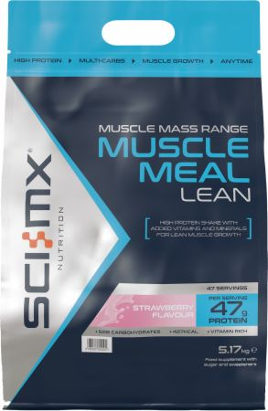 Image of Muscle Meal Lean Strawberry 5.17 Kilograms - Protein Powder SCI-MX Nutrition