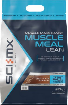 Image of Muscle Meal Lean Chocolate 5.17 Kilograms - Protein Powder SCI-MX Nutrition