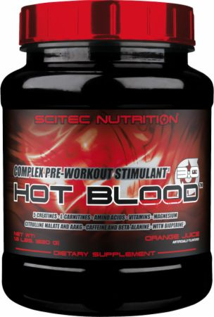 Hot Blood 3 0 By Scitec Nutrition At Bodybuilding Com