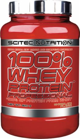 Image of 100% Whey Protein Professional Chocolate 920 Grams - Protein Powder Scitec Nutrition