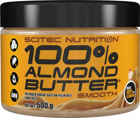 Image of Scitec Nutrition Nut Butters 500 Grams Almond Butter