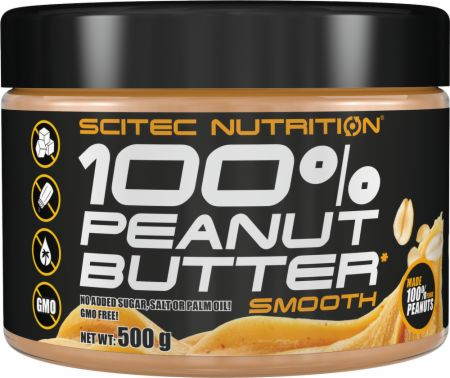 Image of Scitec Nutrition Nut Butters 500 Grams Peanut Butter