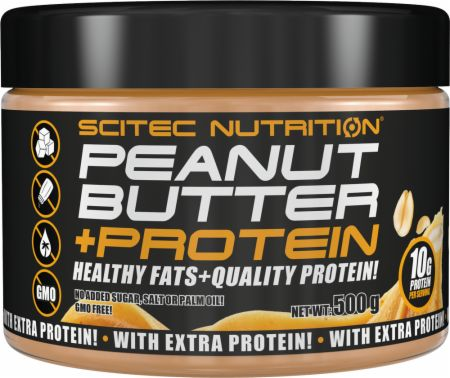 Image of Scitec Nutrition Nut Butters 500 Grams Peanut Butter + Protein