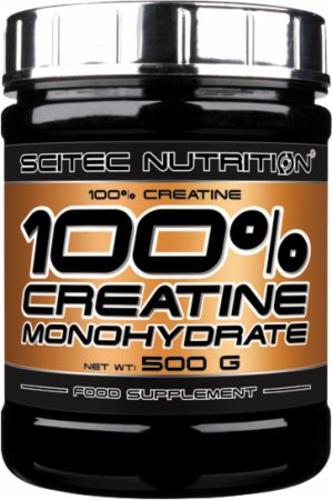 Image of 100% Creatine Unflavoured 500 Grams - Creatine Scitec Nutrition