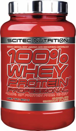 Image of 100% Whey Protein Professional Chocolate Coconut 920 Grams - Protein Powder Scitec Nutrition