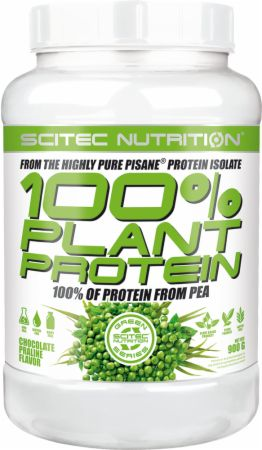 Image of 100% Plant Protein Chocolate Praline 900 Grams - Protein Powder Scitec Nutrition