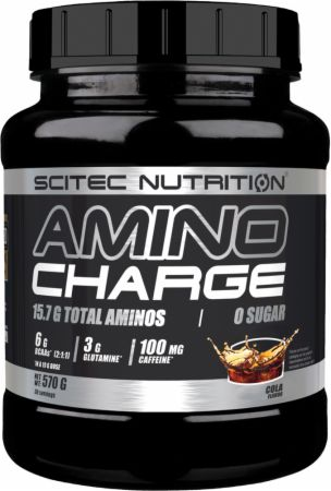 Image of Scitec Nutrition Amino Charge 570 Grams Cola