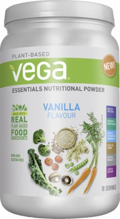 Image of Vega Essentials Nutritional Powder 17 Servings Vanilla