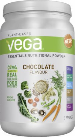 Image of Vega Essentials Nutritional Powder 17 Servings Chocolate