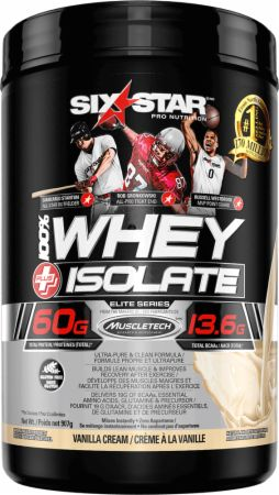 Six Star Pro Nutrition Whey Isolate French Vanilla Cream 1.5 Lbs. - Protein Powder