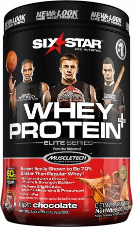 Image of Whey Protein Plus Triple Chocolate 2 Lbs. - Protein Powder Six Star Pro Nutrition