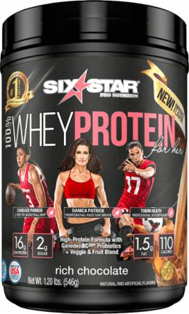 Six Star Pro Nutrition 100% Whey Protein for Her Rich Chocolate 1.2 Lbs. - Protein Powder