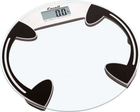 Round Glass Bathroom Scale