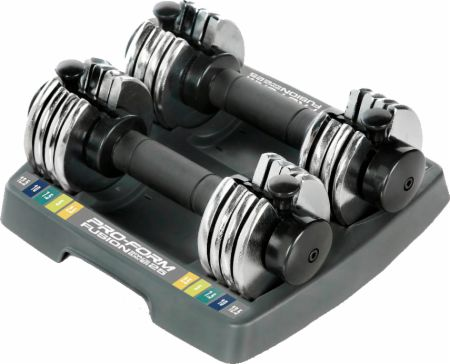 12.5 Lb Adjustable Dumbbell Set