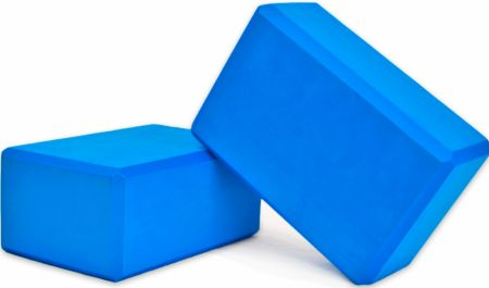 4 Inch Foam Yoga Block Pairs