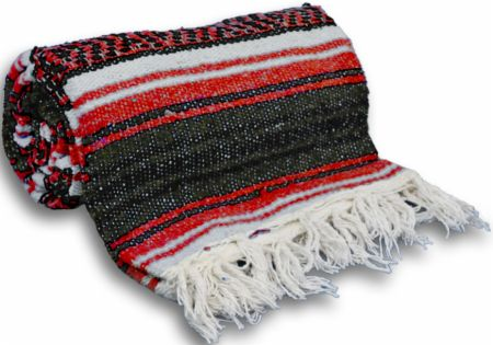Traditional Mexican Yoga Blanket