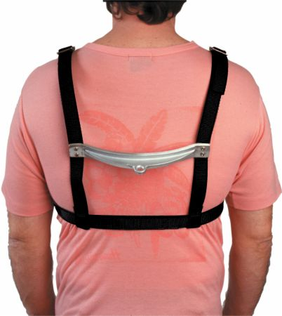 Adjustable Shoulder Harness Bungee Cord Attachment