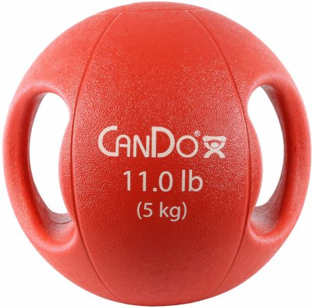 Molded Dual Handle Medicine Ball