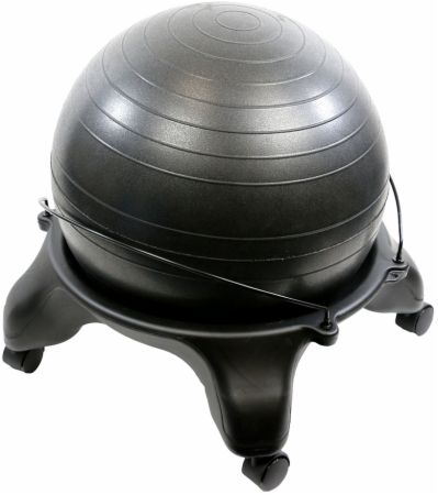 Plastic Mobile Ball Stool With Ball