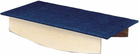 Wooden Rocker Board with Carpet