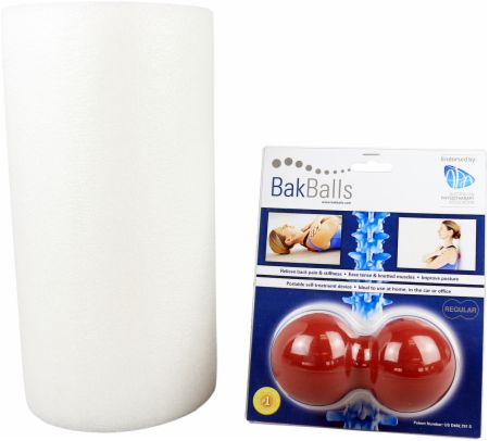 Massager and Foam Roller Mobility Kit