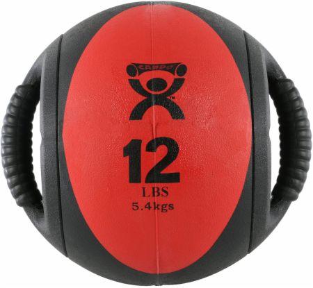 Dual-Handle Medicine Ball
