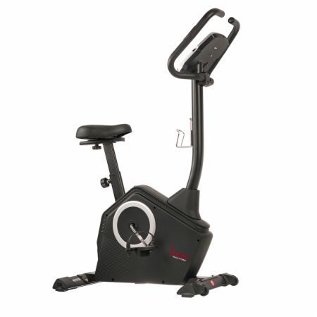 Programmable Upright Bike Black  - Cardio Equipment Sunny Health & Fitness Sunny Health & Fitness Programmable Upright Bike Black   - Comes with 24 pre-installed workouts, backlit screen tracks speed, RPM, calories & more