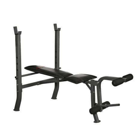 Weight Bench With Leg Trainer
