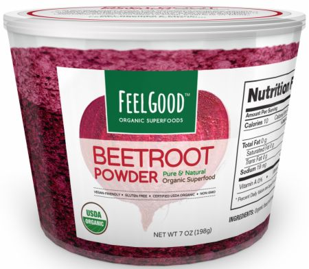 Feel Good Organic Superfoods Beet Root Powder