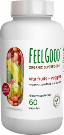 Vita Fruits + Veggies Organic Capsules