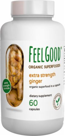 Extra Strength Ginger Organic Capsules