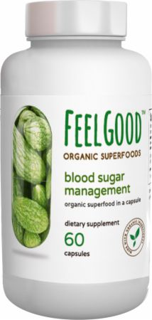 Blood Sugar Management Organic Capsules